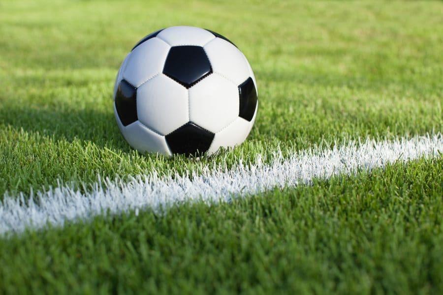 Fußball WM auf Großbildleinwand