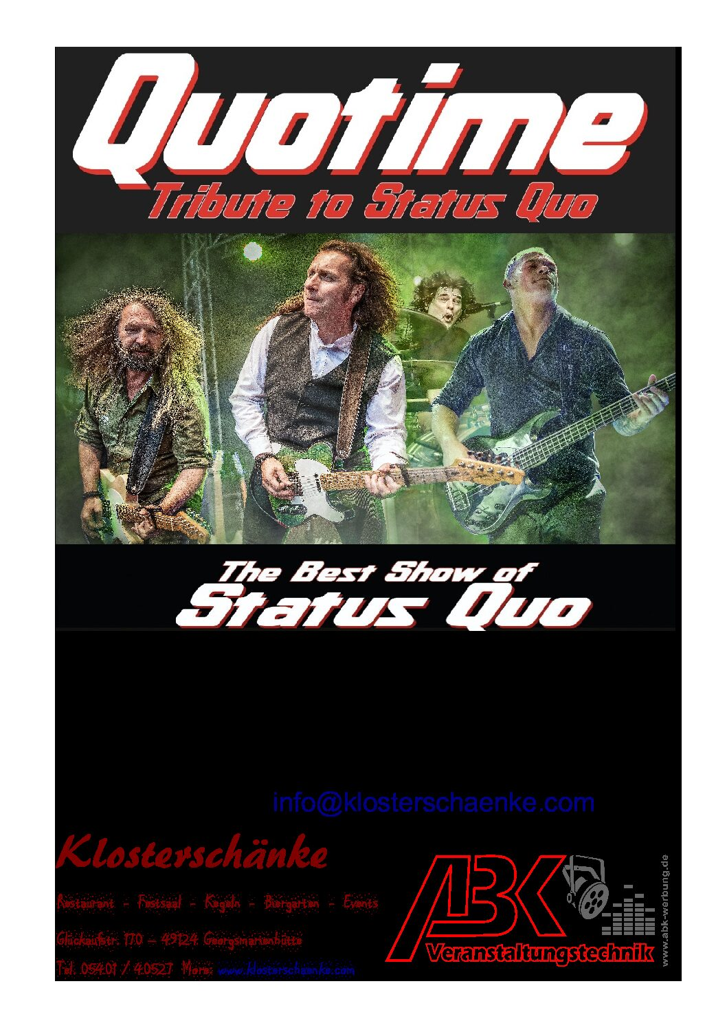 QUOTIME …a Tribute to Status Quo